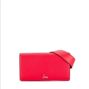 Christian Louboutin belt bag in red, New
